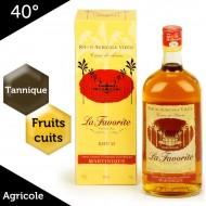 Coeur de Rhum La Favorite – Rhum de la Martinique – 40%