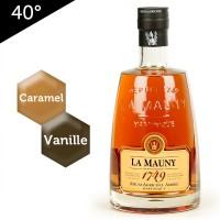 La Mauny 1749 – Rhum ambré de Martinique – 40%