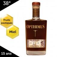 Opthimus 15 ans – rhum dominicain – 38%