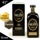 Arcane Extraroma rhum ambré 12 ans de l'Ile Maurice – 41%